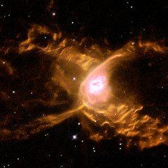 Hubble gira dentro de teia gigante na nebulosa da Aranha Vermelha