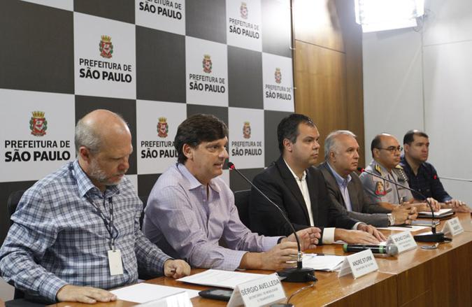 Coletiva de imprensa sobre o plano de apoio ao Carnaval de Rua de São Paulo 2017. Foto: Cesar Ogata / SECOM