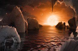 Telescópio da NASA revela sete planetas parecidos com a Terra