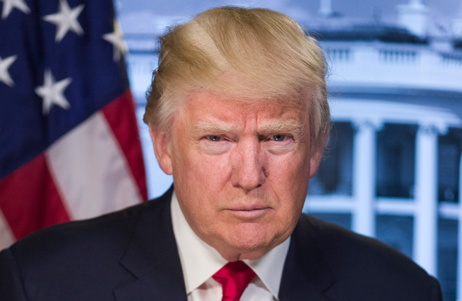 O presidente dos EUA Donald Trump. Foto: By The White House [Public domain], via Wikimedia Commons