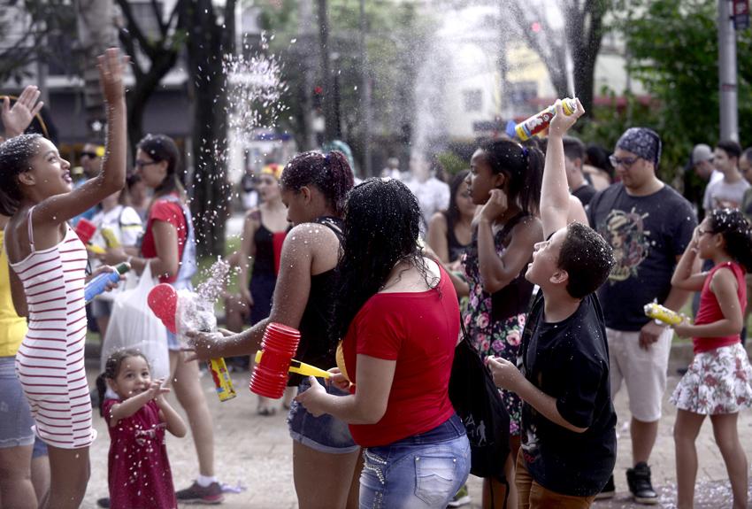 Blocos de Rua fazem a alegria do paulista e turismo mais que dobra na cidade: Bloco Sigam-me os Bons – Tatuapé. Foto: Eduardo Ogata / SECOM