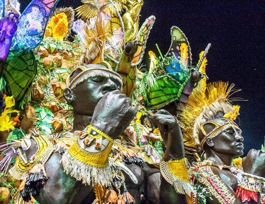 Tatuapé é campeã pela primeira vez do carnaval paulista. Foto: reprodução facebook