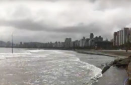 Nível do mar na costa brasileira tende a aumentar nas próximas décadas
