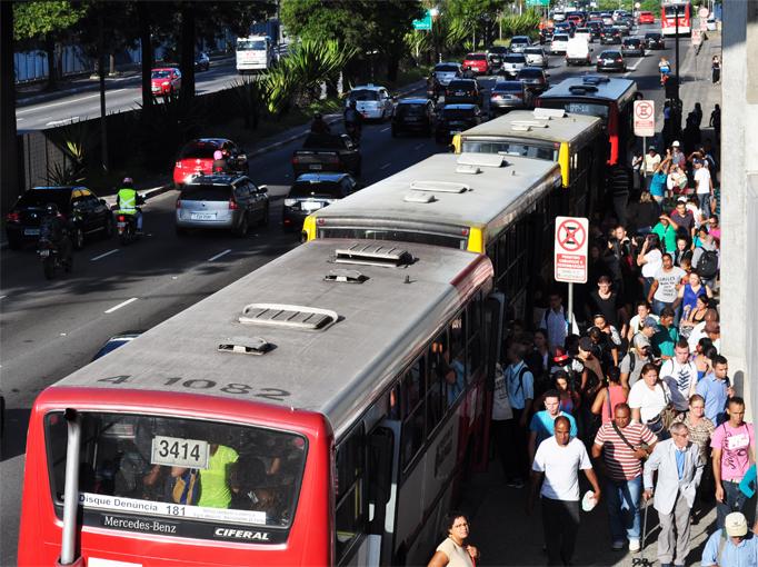 Campanha contra abuso sexual nos transportes