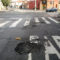 Prefeitura Regional Mooca deixa buraco se transformar em cratera