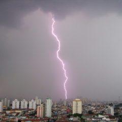 Estado de São Paulo terá maior incidência de raios nos próximos 30 anos