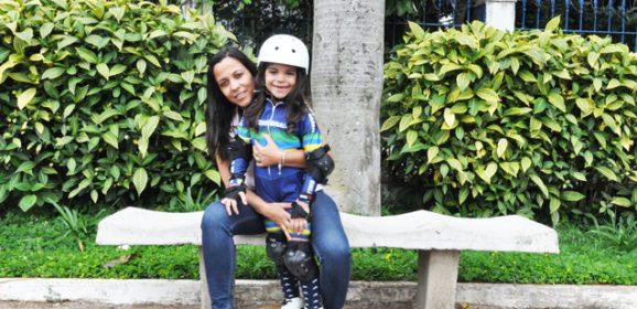 Patinadora mirim do Tatuapé é campeã paulista e brasileira