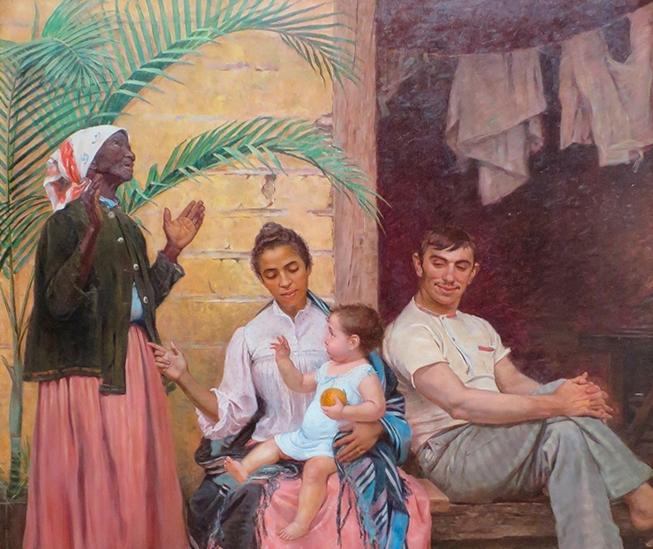 Exemplo de racismo na pintura brasileira, vídeo