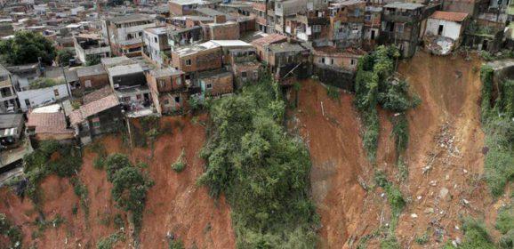 Ação humana nas encostas é a maior causa de deslizamentos