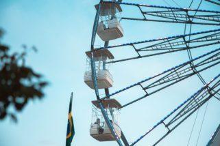 Roda-gigante Brasil é atração no Shopping Anália Franco