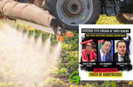 Ruralistas tentam aprovar PL que libera mais veneno na nossa comida, diz Greenpeace