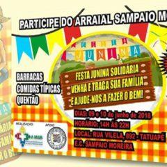 Festa Junina no E.C. Sampaio Moreira