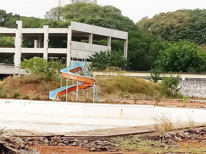 Centro Esportivo Brigadeiro Eduardo Gomes, continua na mesma decadência