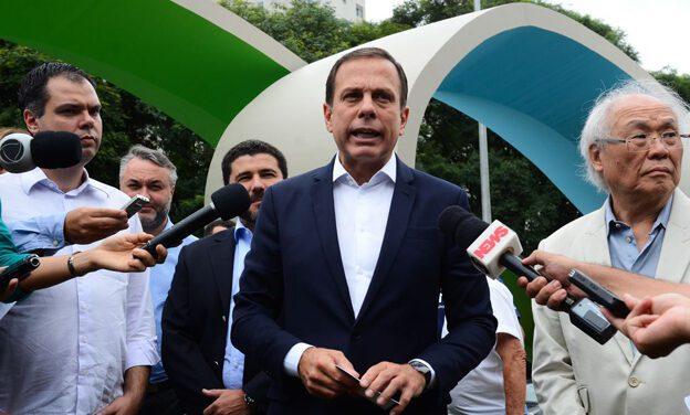 Doria agradece votos e diz que vai apoiar governo Bolsonaro