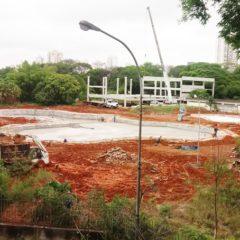Centro Esportivo Municipal do Tatuapé: obras em ritmo lento