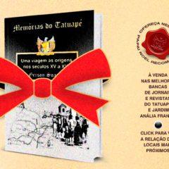 """Livro """"Memórias do Tatuapé"""" já pode ser encontrado nas bancas de jornais do bairro"""