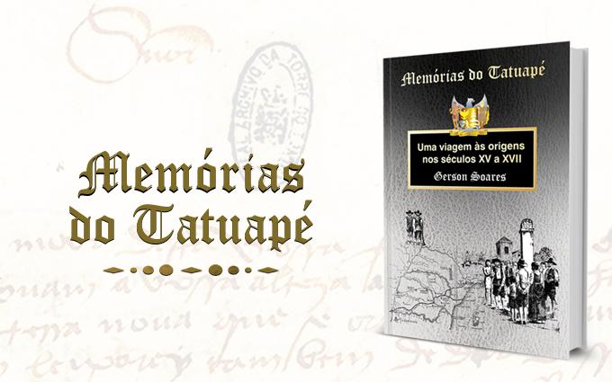 """Onde encontrar o livro """"Memórias do Tatuapé"""""""