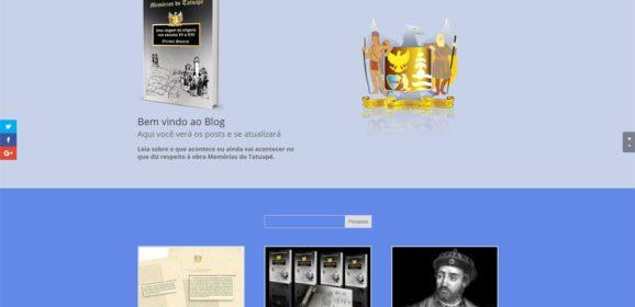 """""""Memórias do Tatuapé"""" já tem site: conheça as primeiras interações da obra com a internet"""