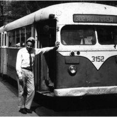 """Ônibus elétrico dos anos 1940 abre nova mostra """"Rodas e Trilhos"""""""