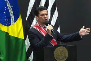Governo de São Paulo condecora ministro Sérgio Moro com o mais alto grau da Ordem do Ipiranga