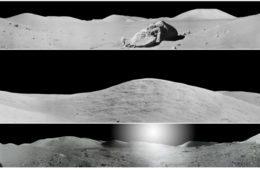 NASA divulga panoramas impressionantes de locais de pouso da Apollo para o 50º aniversário
