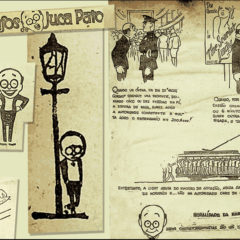 Clippings da Light revelam o humor e as críticas do personagem Juca Pato