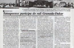 Memória Alô Tatuapé – Rali Granada-Dakar