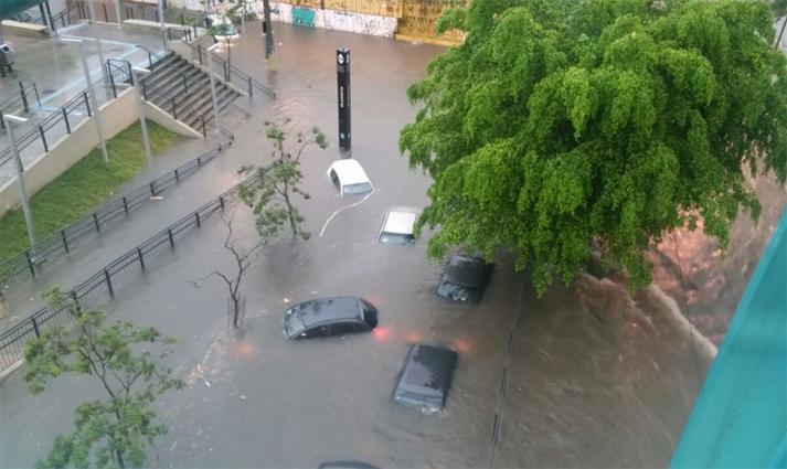 Número de dias com chuva forte cresceu em São Paulo nas últimas sete décadas