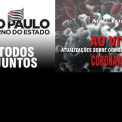 Governo de SP sobre o coronavírus direto do Estádio do Pacaembu, ao vivo