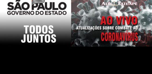 Governo de SP sobre o coronavírus direto do Estádio do Pacaemb, ao vivo