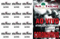 Governador João Doria está ao vivo atualizando sobre o coronavírus