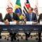 Presidente Bolsonaro se reúne com empresários em SP, vídeo