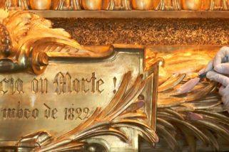 """Ciência e arte se aliam na restauração do quadro """"Independência ou Morte"""", vídeo"""