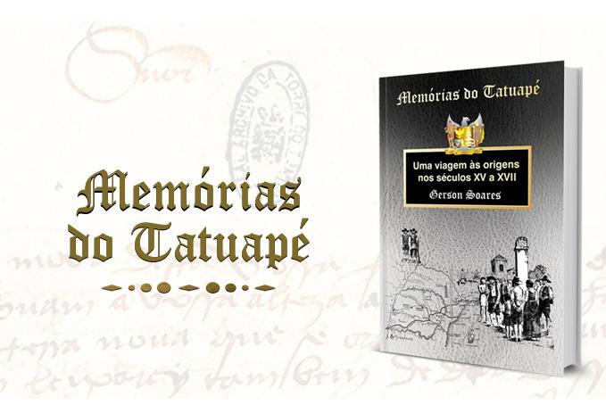 """Veja como é facil comprar o livro """"Memórias do Tatuapé"""" ::: Conheça a origem do bairro"""