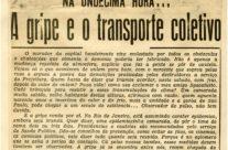 Epidemias e o transporte público nos clippings da Light