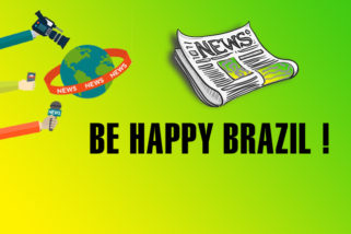 We wish Brazil happiness! Desejamos felicidades ao Brasil!