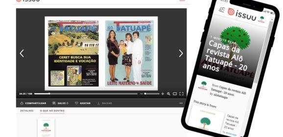 Capas da revista Alô Tatuapé – 20 anos
