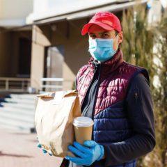"""O serviço de """"delivery"""" e seus perigos de contaminação de Covid-19"""