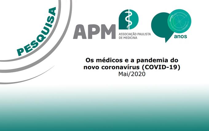 Pesquisa da APM aponta que 63% dos médicos discordam dos números oficiais