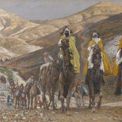 Estrela de Belém: Maria e José, o menino Jesus e os Reis Magos