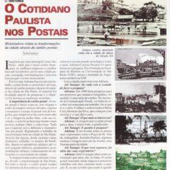 O cotidiano paulista nos Postais