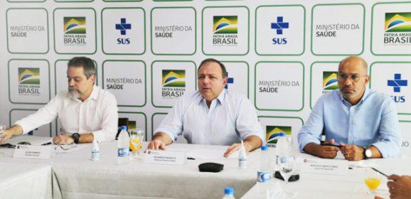Pazuello atualiza entrega de doses das vacinas contra a Covid-19