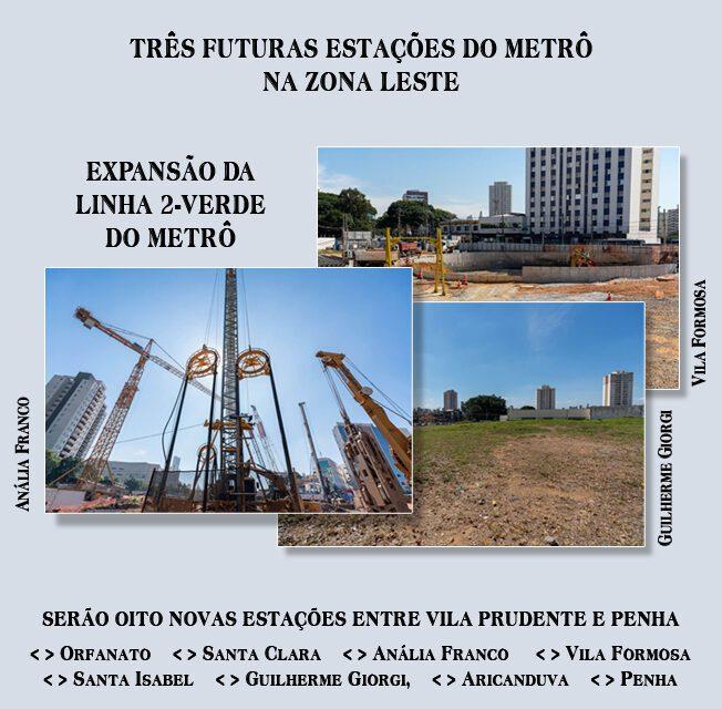 Obras de expansão da Linha 2 – Verde alteram tráfego na Vila Formosa