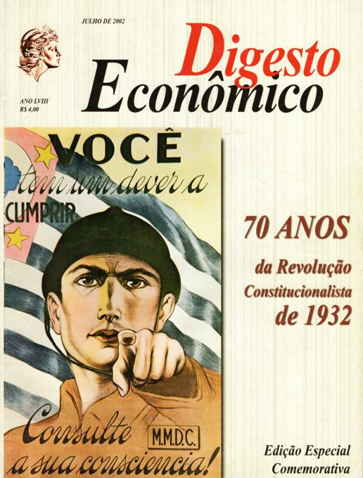 """Revolução de 32 — """"Exemplos para os dias de hoje"""""""