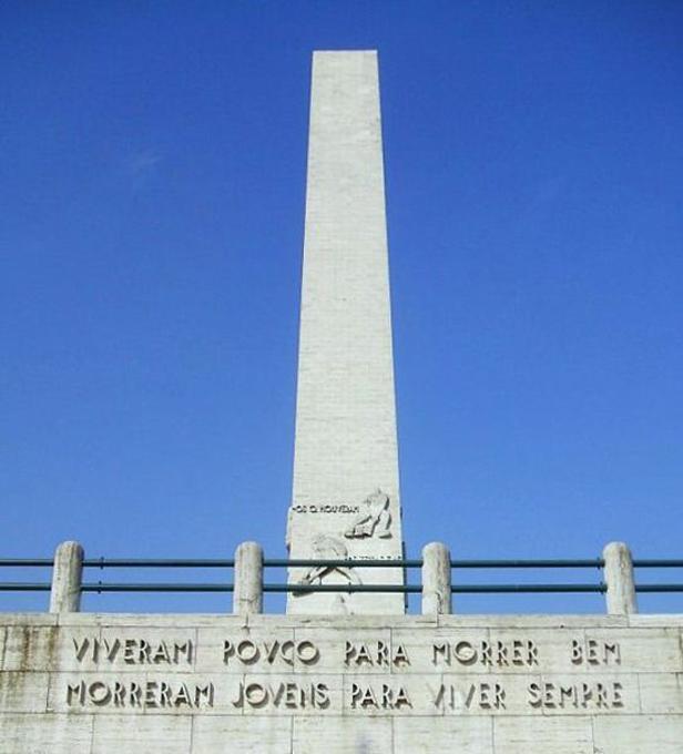 Revolução de 1932: Obelisco do Ibirapuera