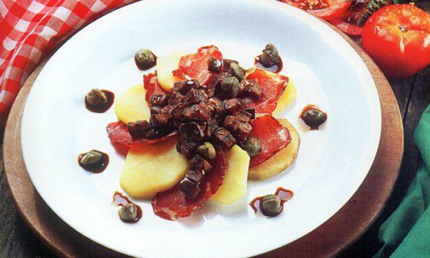 Salada italiana do Chef Jorge Nascimento