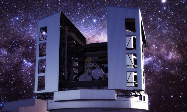 Sexto espelho do Telescópio Gigante Magalhães – GMT