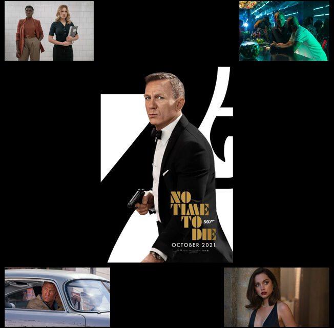 """""""007 Sem tempo para morrer"""" está previsto para estrear em setembro no Brasil"""