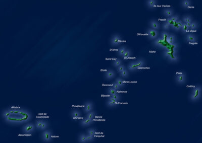 dolce vita seychelles mapa