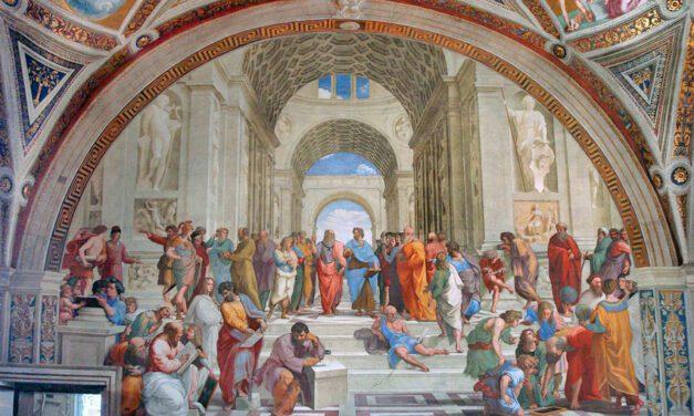 Platão e Aristóteles são temas de estudo na USP